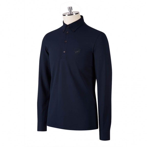 Animo Shirt Herren Azio HW21, Poloshirt, langarm