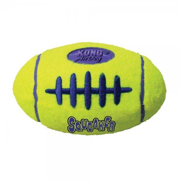KONG Air Dog Hundespielzeug Squeaker Football