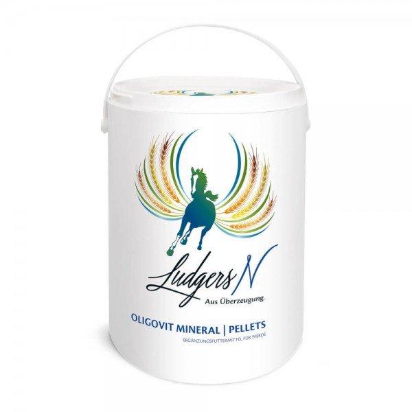 Ludgers Oligovit Mineral Pellets, optimale Mineralstoffversorgung, optimale Stoffwechselfunktion
