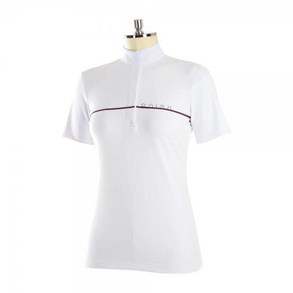Animo Damen Turniershirt Beves HW20, kurzarm, glitzer