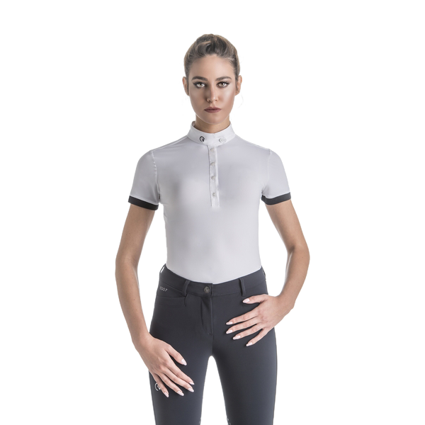 Ego7 Damen Turniershirt Polo MC, kurzarm