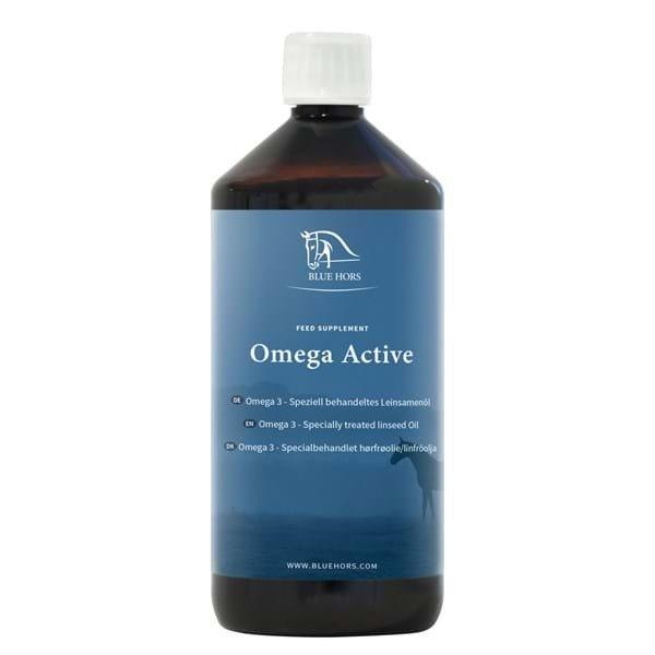 Blue Hors Omega Active, Leinöl, Leinsamenöl, Ergänzungsfutter