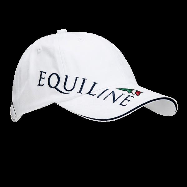 Equiline Cap Logo, Mütze, blau, weiß