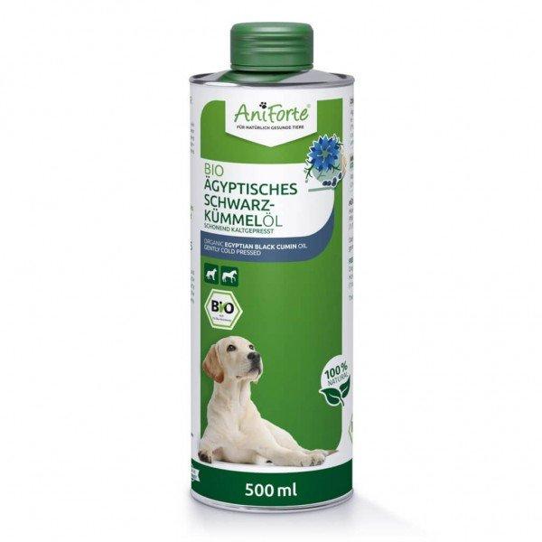 AniForte® Ägyptisches Schwarzkümmelöl, Bio, Ergänzungsfutter