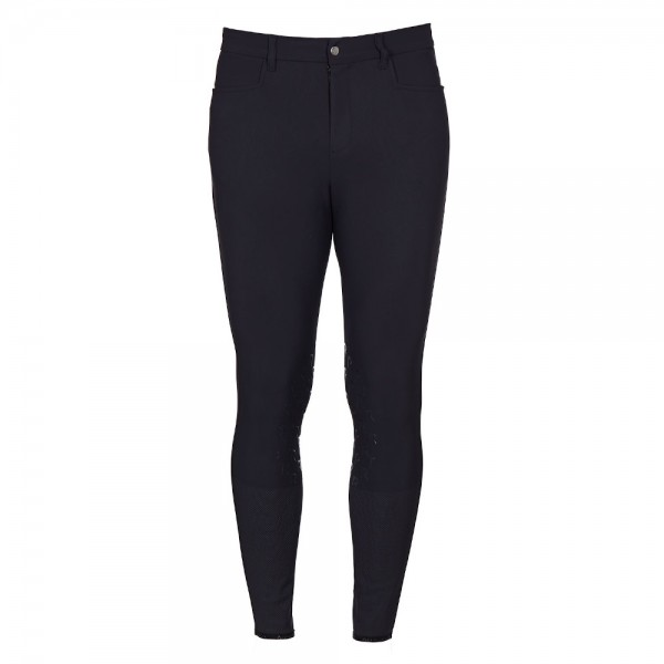 Cavalleria Toscana Reithose Herren Knee-hi Perforated Breeches FS20, Knee-Grip, Kniebesatz