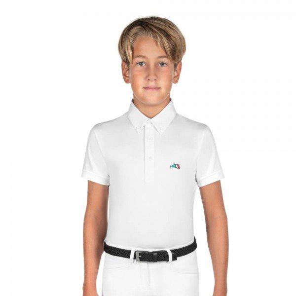 Equiline Jungen Turniershirt Jeremyk, Poloshirt