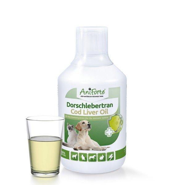 AniForte® Dorschlebertran, Ergänzungsfutter