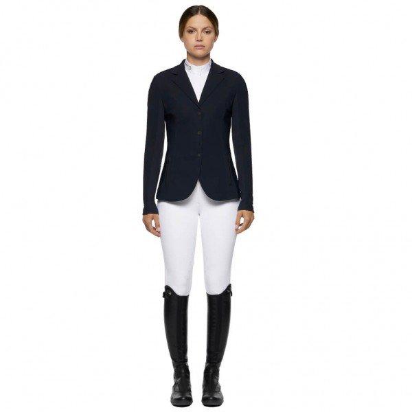 Cavalleria Toscana Sakko Damen R-EVO Light Tech Knit Zip HW21,Jacket, Turniersakko, Turnierjacket