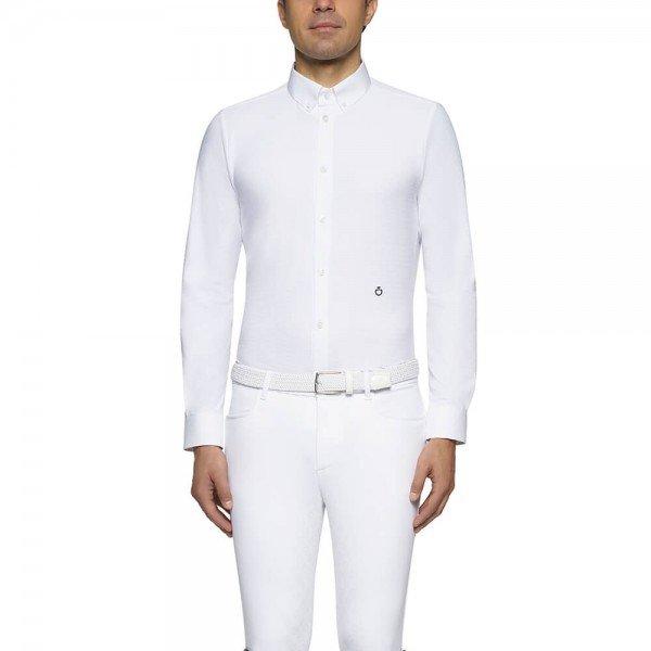 Cavalleria Toscana Turniershirt Herren Guibert Shirt L/S, FS21