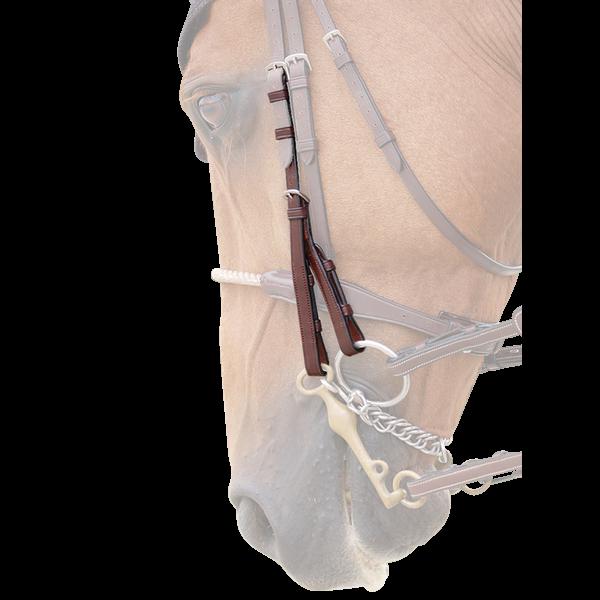 Dyon Backenstücke Kandare (paarweise) B919