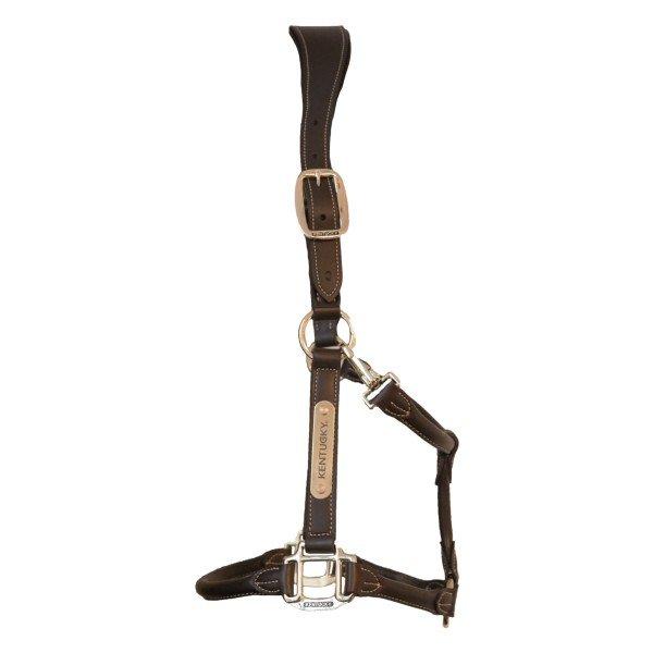 Kentucky Horsewear Halfter Anatomic Leather Halter, Lederhalfter