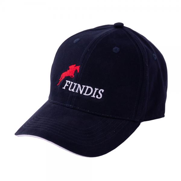 Fundis Reitsport Cap Logo, Schildmütze