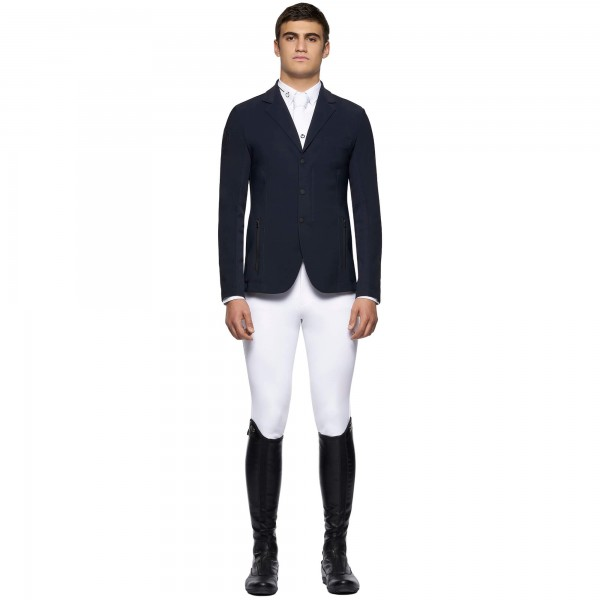 Cavalleria Toscana Sakko Herren R-EVO Light Tech Knit Zip Riding Jacket HW21