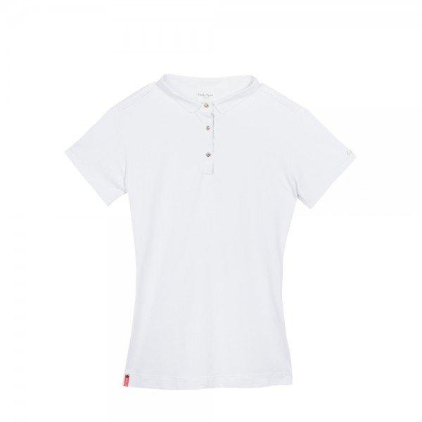 Dada Sport Damen Turniershirt Winningmood, kurzarm, weiß