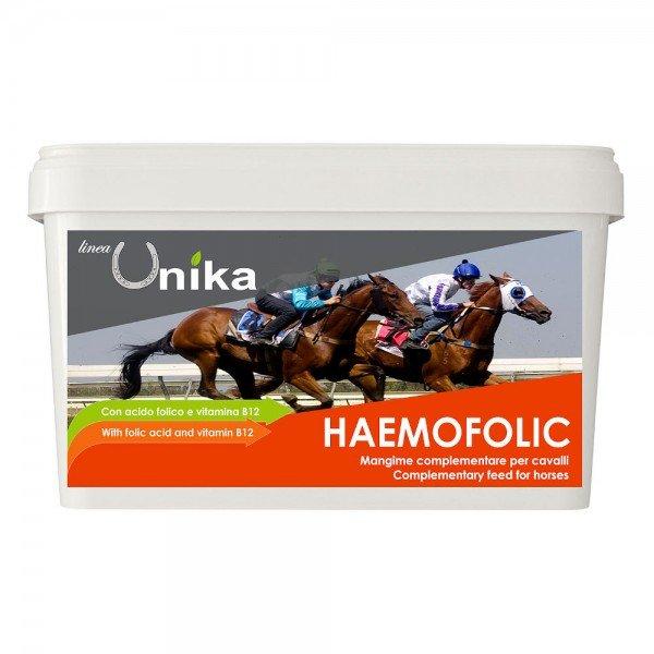 Linea Unika Haemofolic, erhöht die Anzahl roter Blutkörper, Ergänzungsfutter