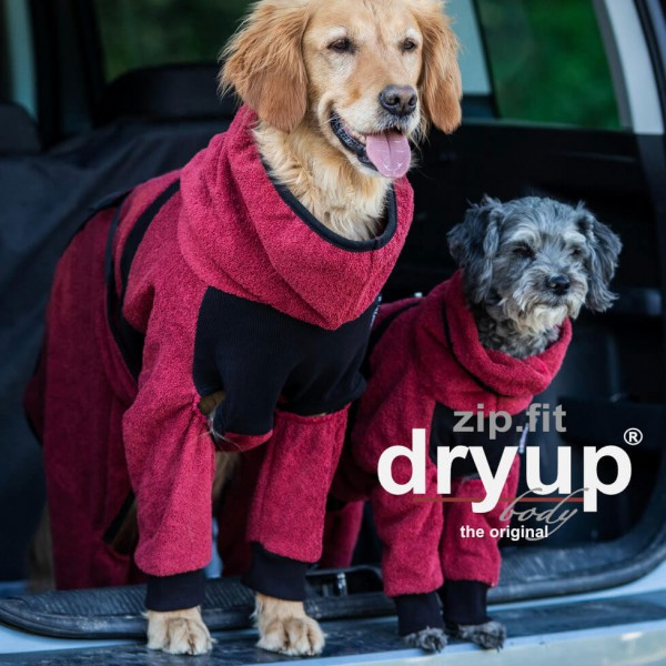 Action Factory Hundemantel Dryup Body zip