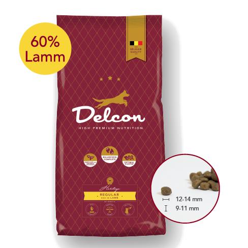 Delcon Hundefutter Heritage Regular Lamm, Trockenfutter