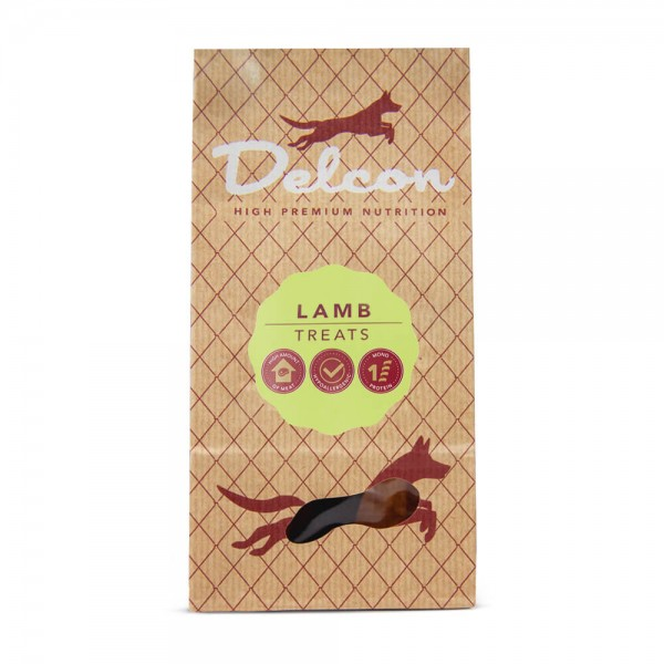 Delcon Hundeleckerli Lamb Treats, Lamm