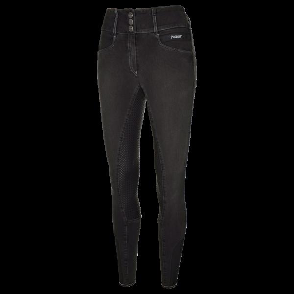 Pikeur Reithose Damen Candela Grip Jeans, Vollbesatz, Full-Grip