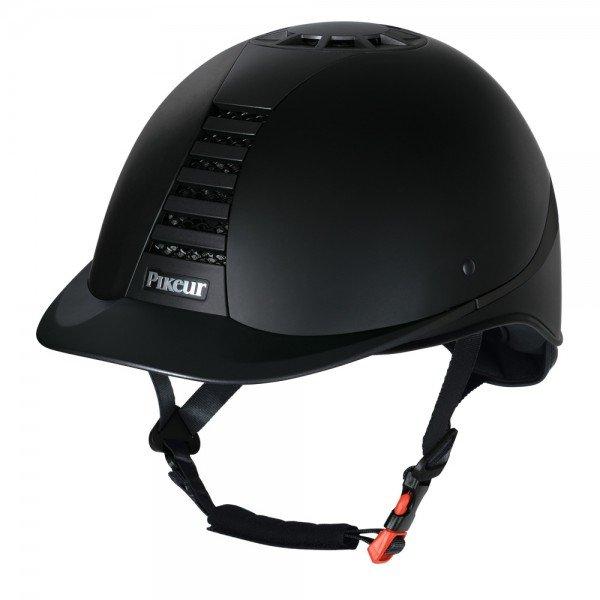Pikeur Reithelm Pro Safe Excellence, schwarz, grau
