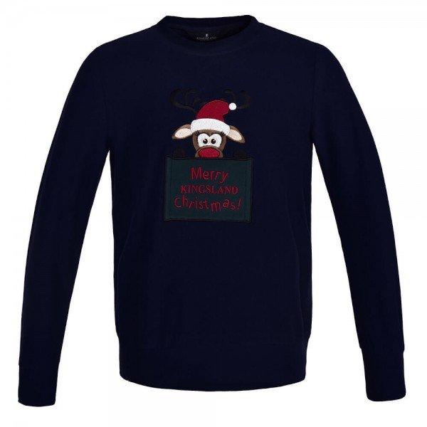 Kingsland Pullover Kinder KLfaith HW20, Weihnachtspullover