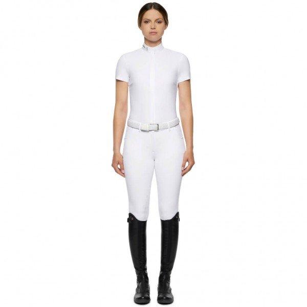 Cavalleria Toscana Turniershirt Damen R-EVO Tech Knit S/S Competition Shirt HW21, kurzarm