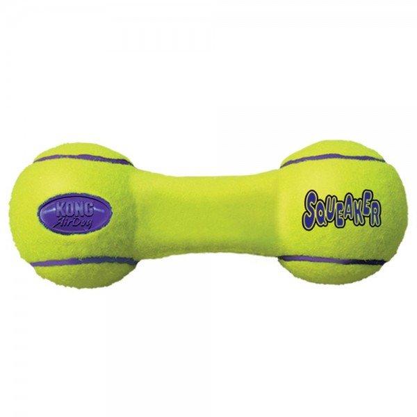 KONG Air Dog Hundespielzeug Squeaker Hantel