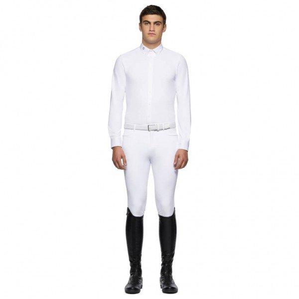 Cavalleria Toscana Turniershirt Herren Guibert HW21, Turnierhemd, langarm
