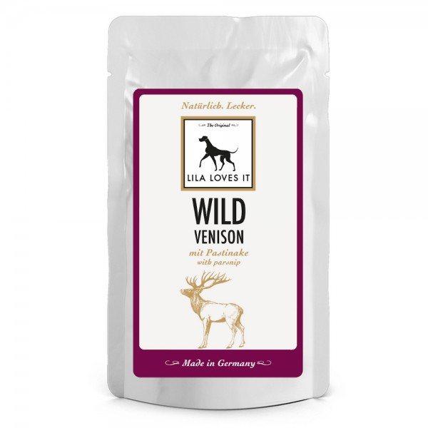 Lila Loves It Hundefutter Wild mit Pastinake, Nassfutter