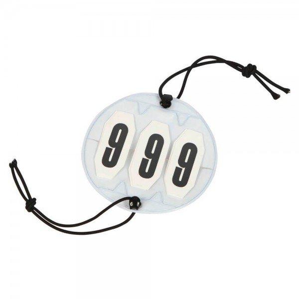 Kerbl Startnummer rund, Kopfnummer, Turniernummer