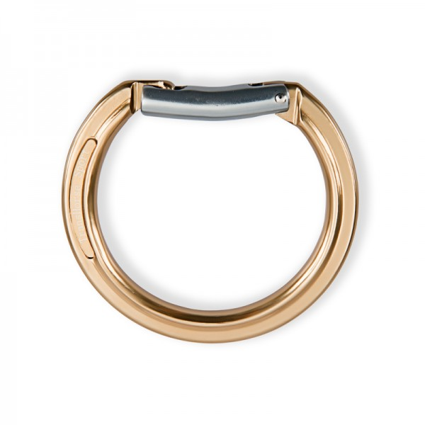 TransHorse Sport Aluminium Ring klein, Karabiner