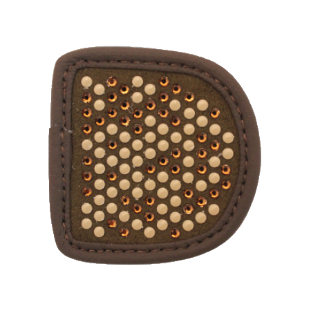 MagicTack Patches Brown Chessboard