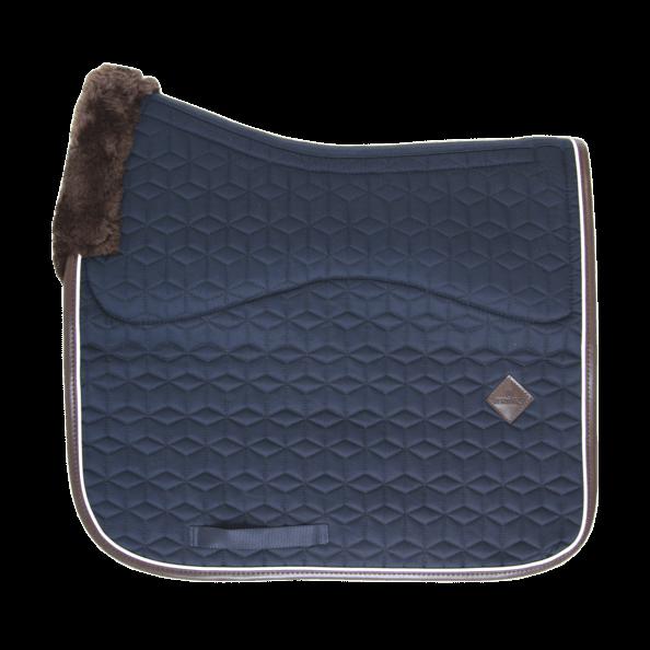 Kentucky Horsewear Schabracke Skin-Friendly, Dressurschabracke, künstliches Lammfell