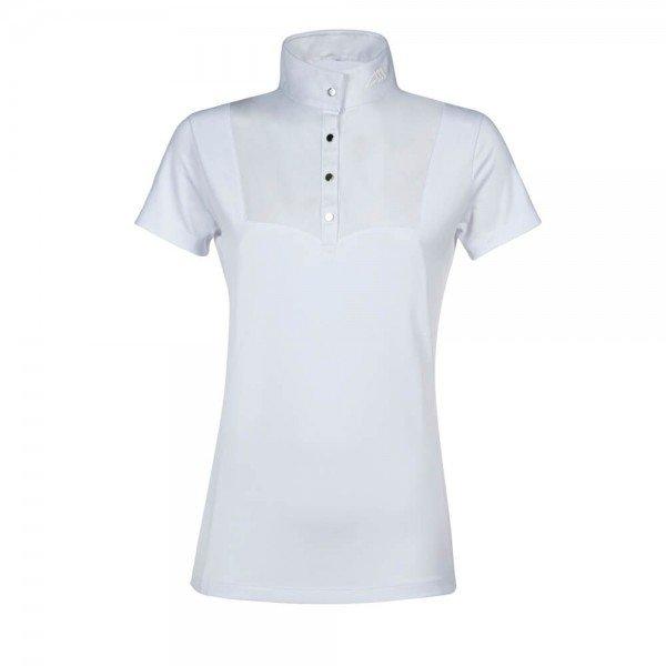 Equiline Turniershirt Damen Eveleene FS21, Turnierpolo, kurzarm