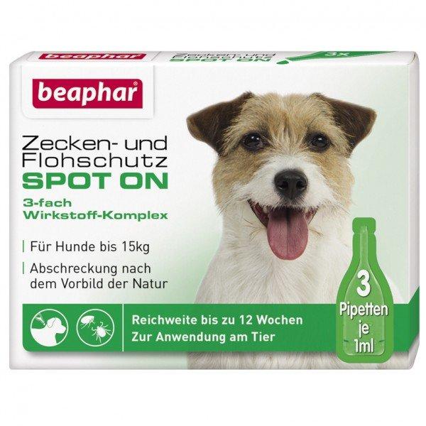 Beaphar Zecken- & Flohschutz Spot On, Tropfen