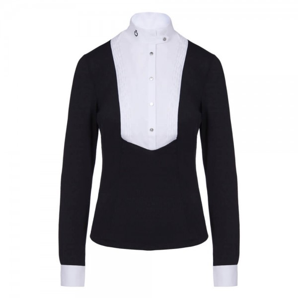 Cavalleria Toscana Damen Turniershirt Tech Shirt HW20, langarm