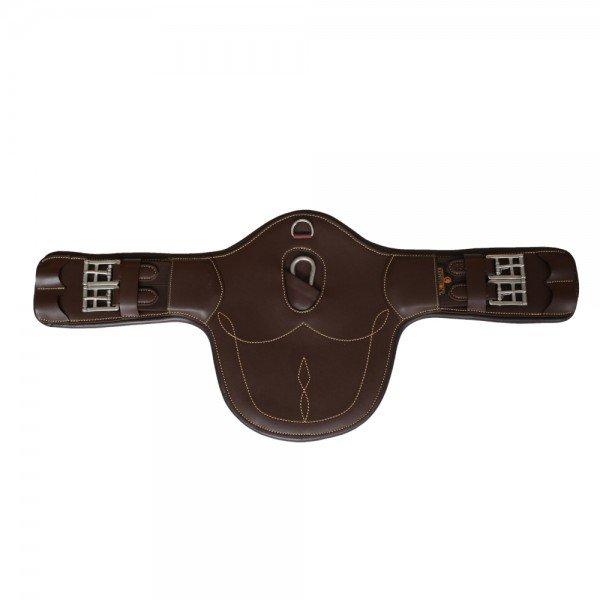 Kentucky Horsewear Sattelgurt Stollenkurzgurt, Stollengurt, Leder