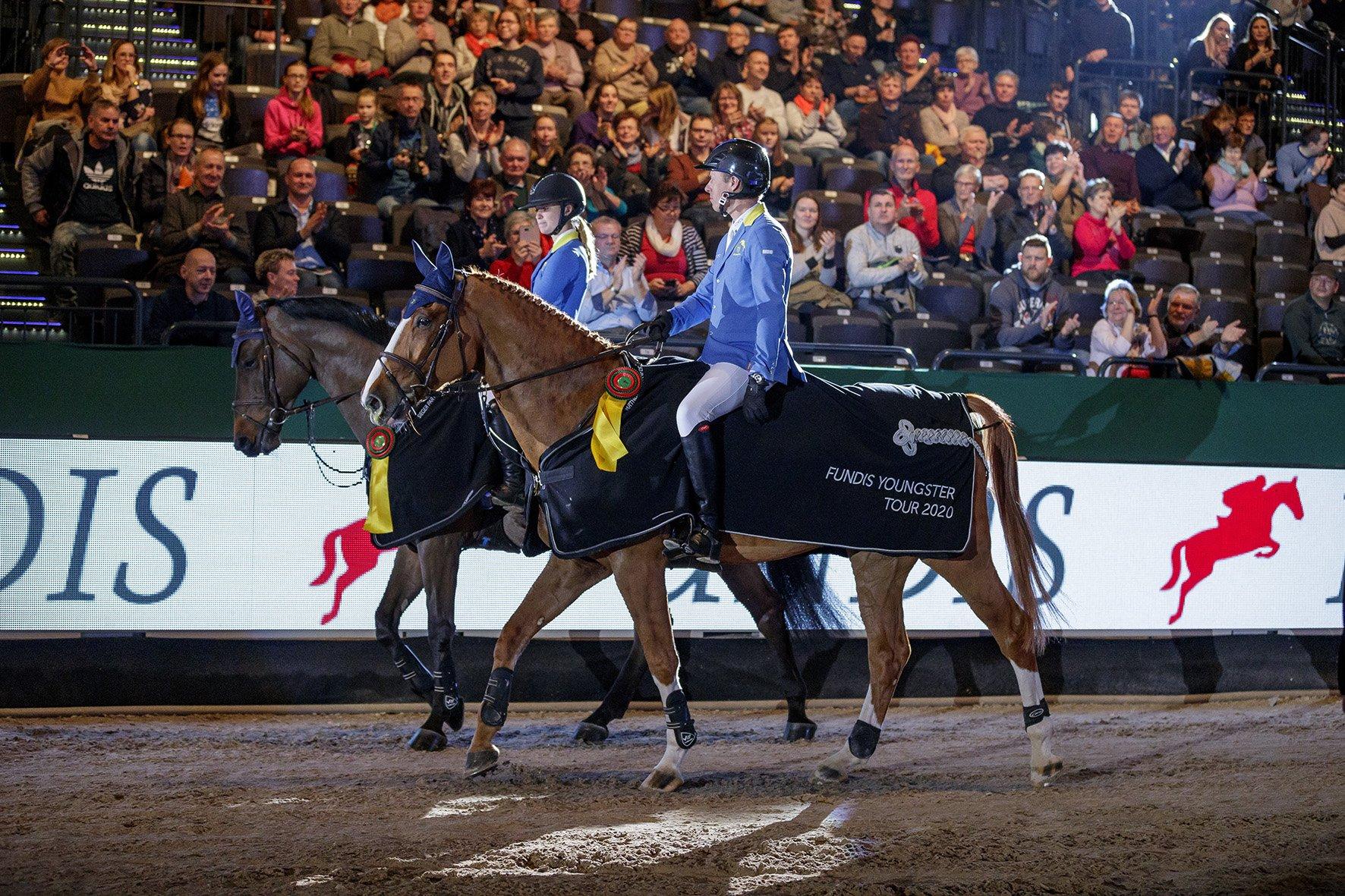Startschuss der Fundis Youngster Tour – Die Partner Pferd Leipzig 2020