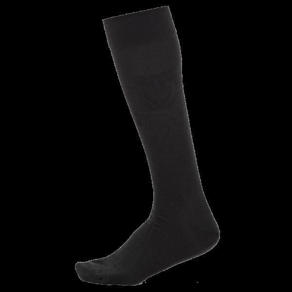 Cavalleria Toscana Reitsocken Wool and Silk, schwarz