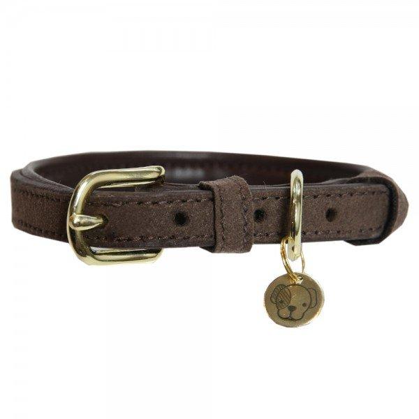 Kentucky Dogwear Hundehalsband Velvet Leather, Lederhalsband