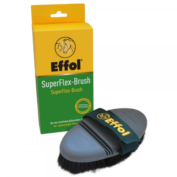Effol Kardätsche SuperFlex Brush, Pferdebürste