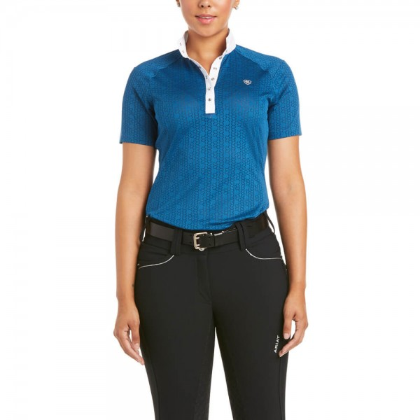 Ariat Damen Turniershirt Showstopper 3.0 FS21, kurzarm