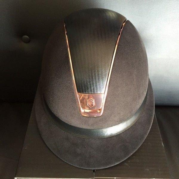 Samshield Reithelm Miss Shield Premium Rose Gold, schwarz, blau