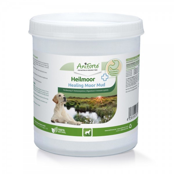 AniForte® Heilmoor für Hunde, natürliche Heilerde