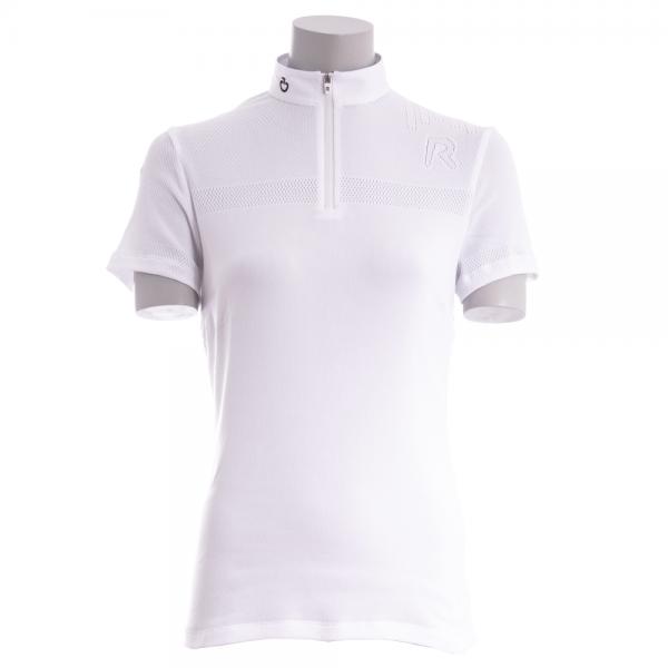 Cavalleria Toscana Damen Turniershirt R-Tech Knit S/S, kurzarm