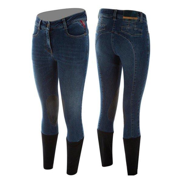 Animo Reithose Damen Nesy, Kniebesatz, Knee-Grip, Jeans