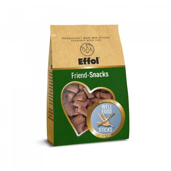 Effol Pferdeleckerlis Friend-Snacks, Apfel, Mint und Getreidefrei 500gr