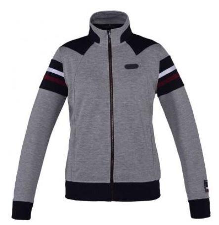 Kingsland Sweater Unisex Aspe, Sweatjacke, rot, blau, grau