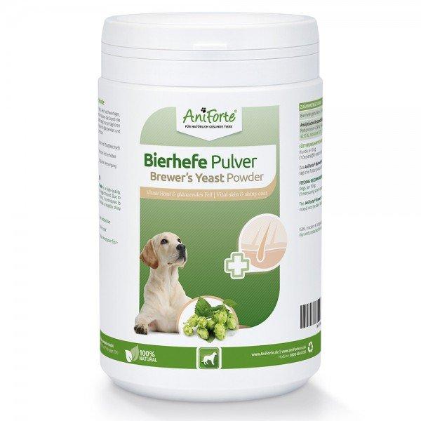 AniForte® Bierhefe Pulver, reine Bierhefe, für glänzendes Fell