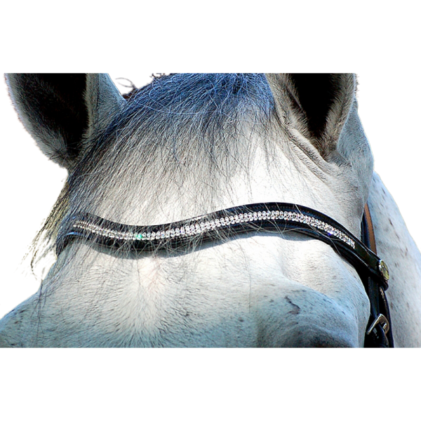 Dyon Dressur Stirnband Double Swarovski